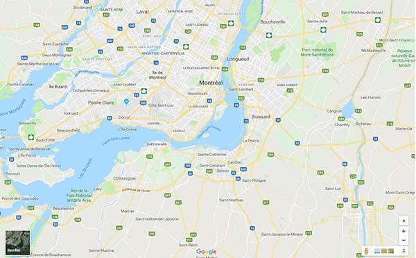 carte-rive-sud-de-montreal