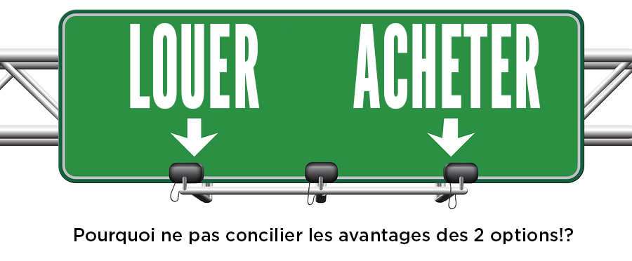 La LocationAchat Ou Bail Avec Option DAchat  Stratgie D