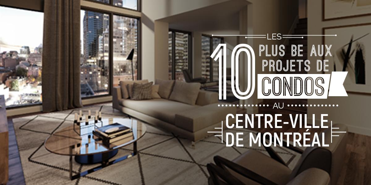 Les 10 plus beaux projets de condos au centre ville de for Vente piscine montreal