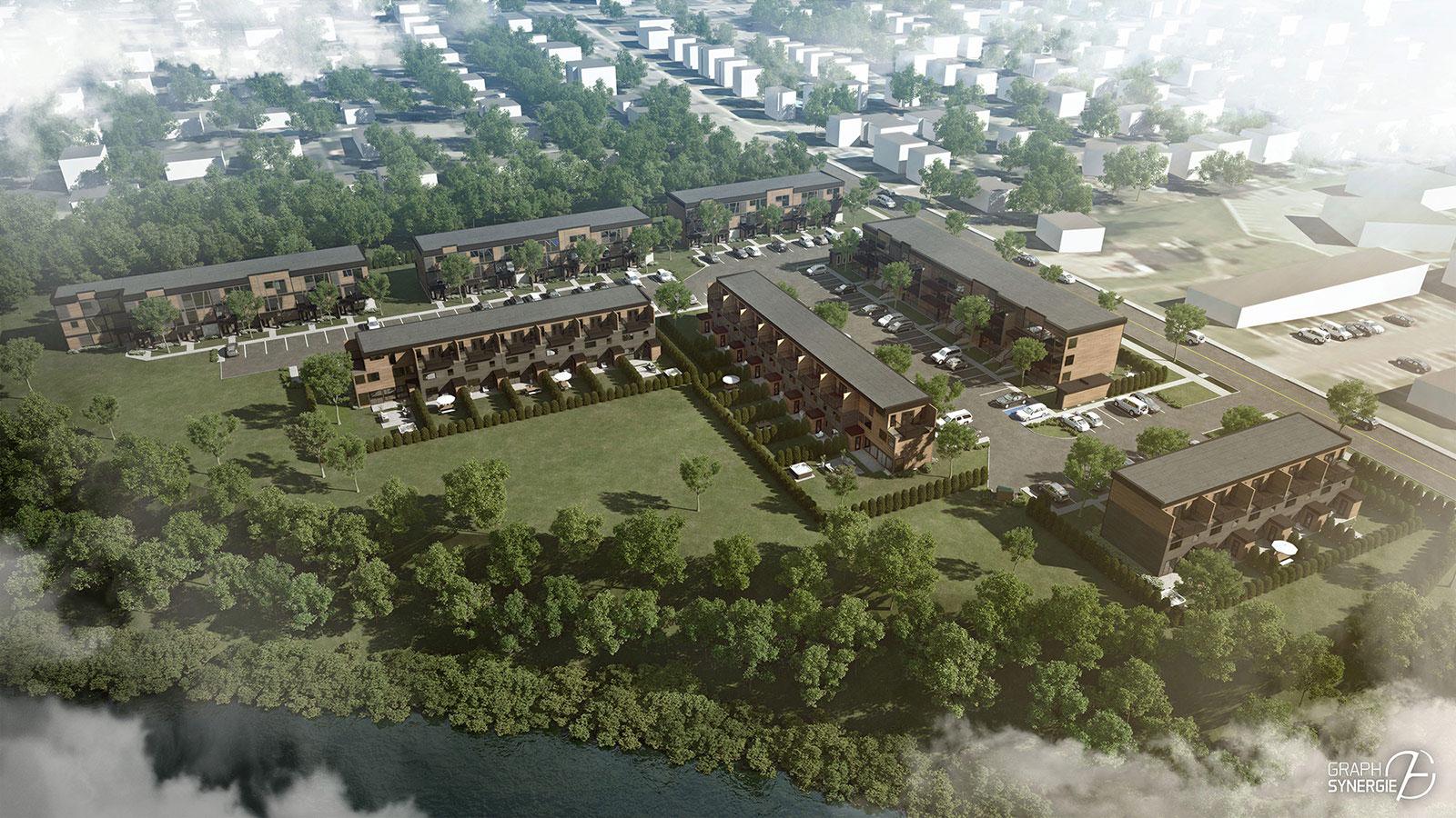 Complexe de condos pour retraites Ekla Sainte-Foy Image 14