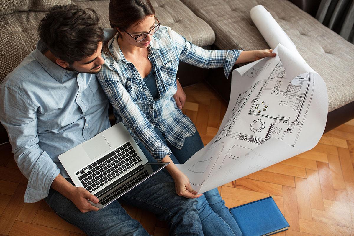 couple projet immobilier flips détention