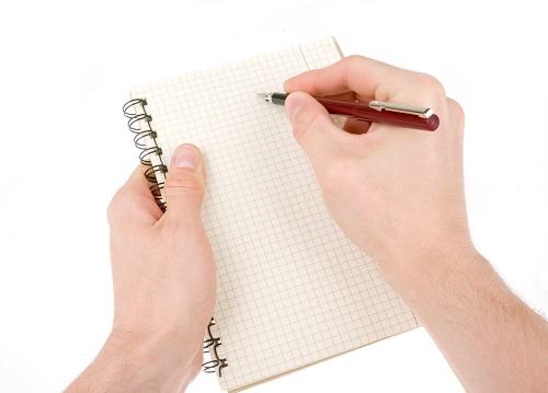 Erreurs à éviter lors de la visite d'une maison: ne pas prendre de notes