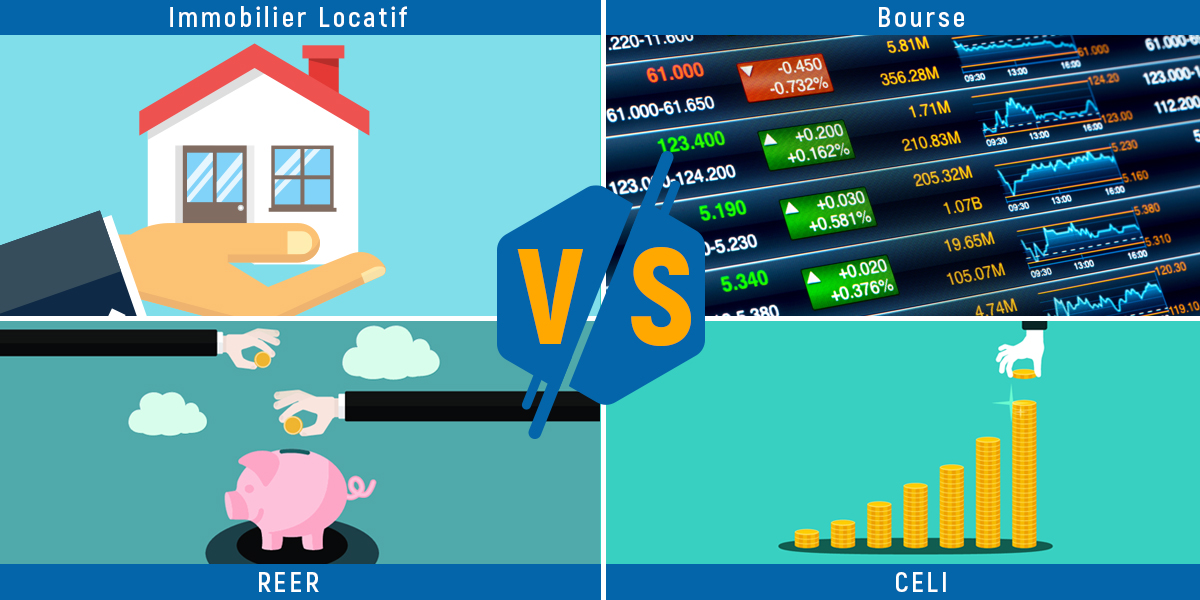 Investir-au-Quebec-Immobilier-Locatif-VS-Bourse-VS-REER-VS-CELI