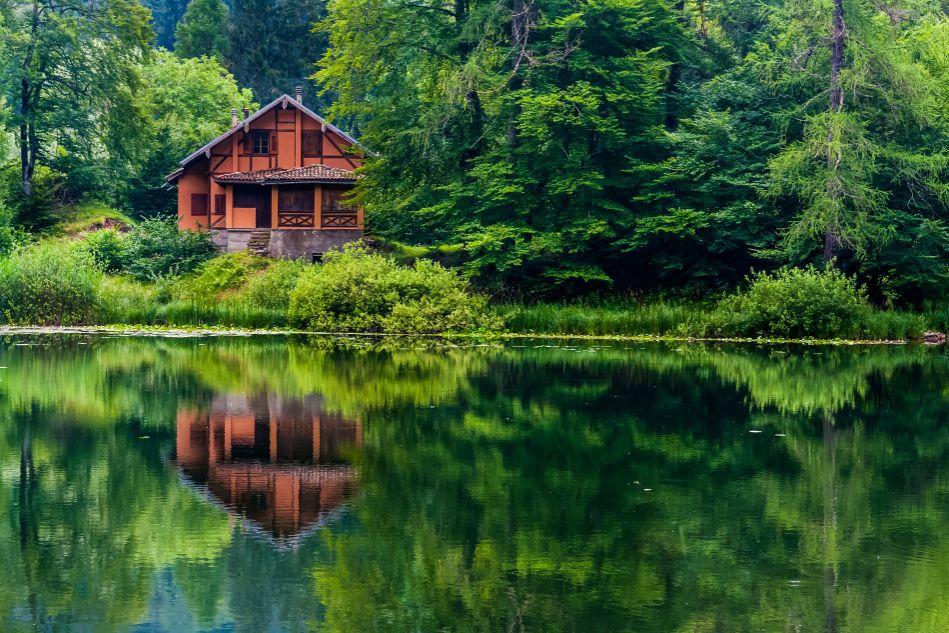 chalet lac laurentides