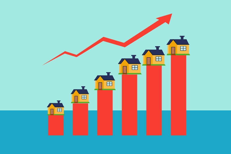 marche immobilier hausse prix maison